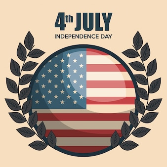 Celebración del día de la independencia de estados unidos.