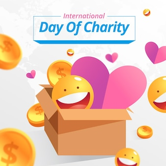 Celebración del día internacional de la caridad