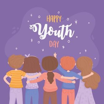 Celebración del día de la juventud