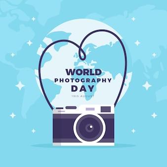 Celebración del día mundial de la fotografía