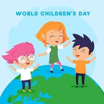 Celebración del día mundial del niño