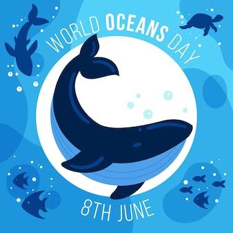 Celebración del día mundial de los océanos