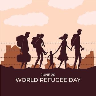 Celebración del día mundial de los refugiados