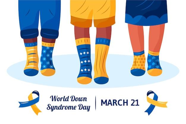 Celebración del día mundial del síndrome de down