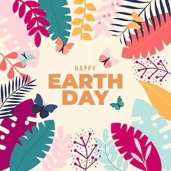Celebración del evento del día de la madre tierra