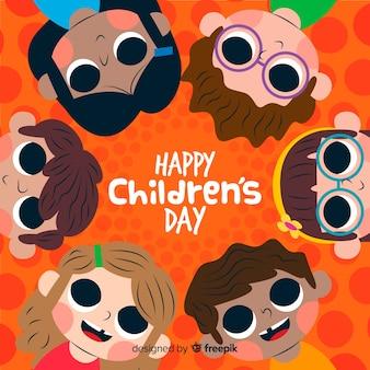 Celebración del evento del día de los niños.