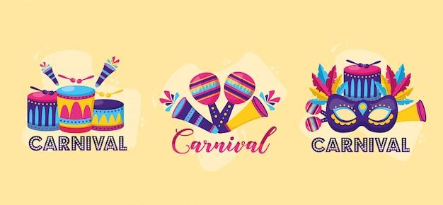 Celebración festiva de carnaval
