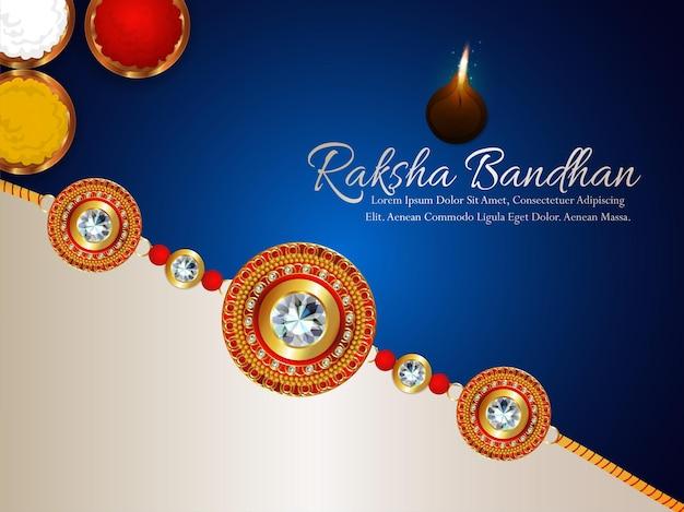 Celebración del festival indio raksha bandhan