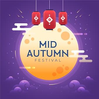 Celebración del festival del medio otoño
