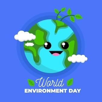 Celebración internacional del día mundial del medio ambiente