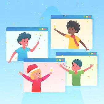 Celebración navideña online por coronavirus
