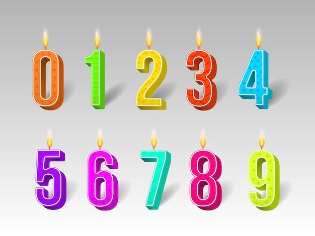 Celebración pastel velas luces encendidas