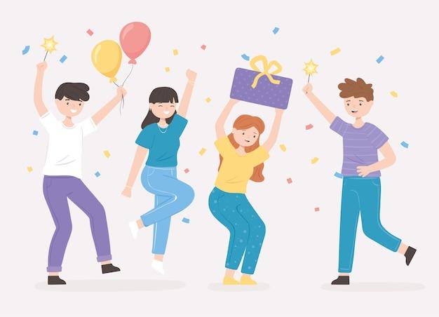 Celebrando a los jóvenes