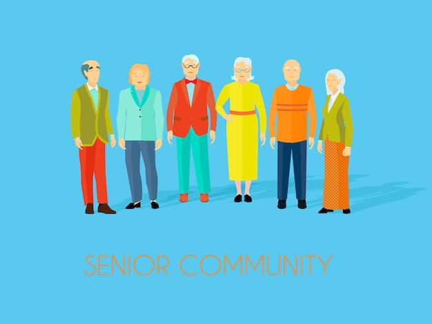 Centro comunitario para personas mayores