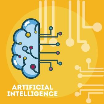 Cerebro de inteligencia artificial
