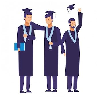 Ceremonia de graduación de estudiantes