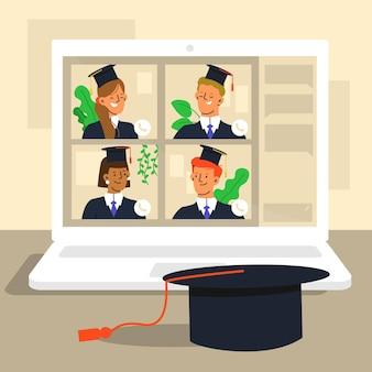 Ceremonia virtual de graduación