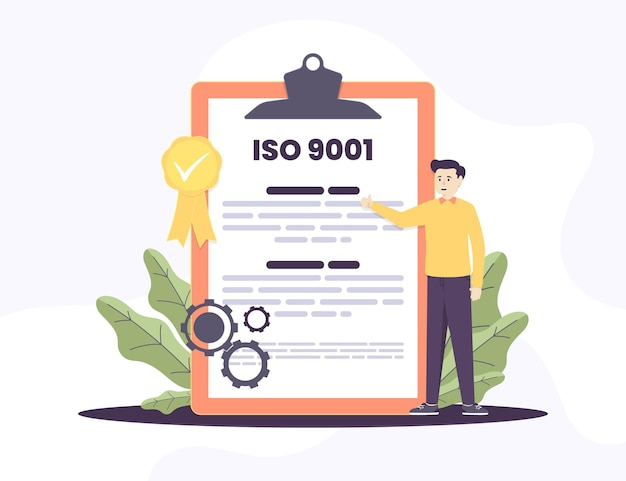 Certificación y carácter iso 9001