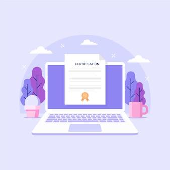 Certificación en línea