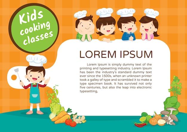 Certificado de clase de cocina para niños 3