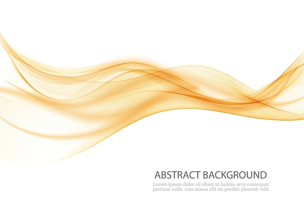 Certificado de línea de onda swoosh fondo abstracto tarjeta de frontera de humo de aire suave.