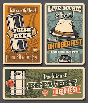 Cerveza y cervecería, celebración del oktoberfest