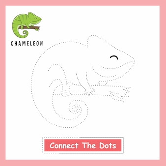 Chameleon connect the dots