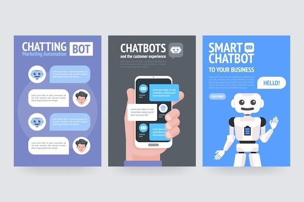 Chat de automatización de marketing de bot y la experiencia del cliente.