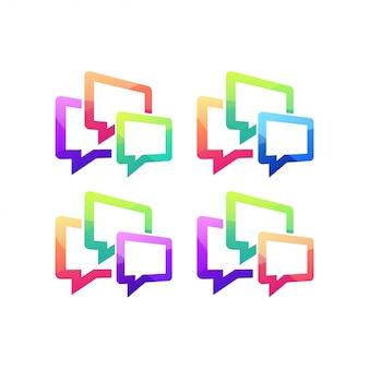 Chat mensaje comunicación hablar