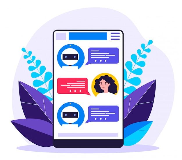 Chatbot consultor mujer