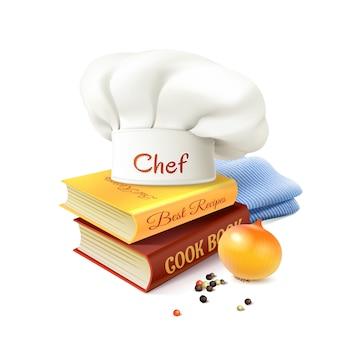 Chef y concepto de cocina