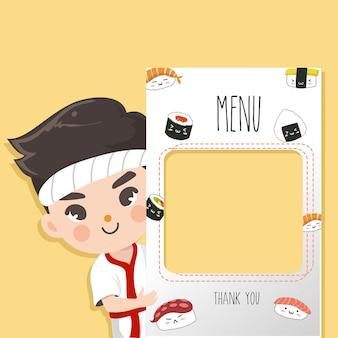 Chef de japon recomienda
