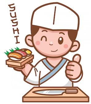 Chef japonés