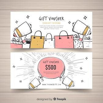 Cheque regalo de 500 dólares