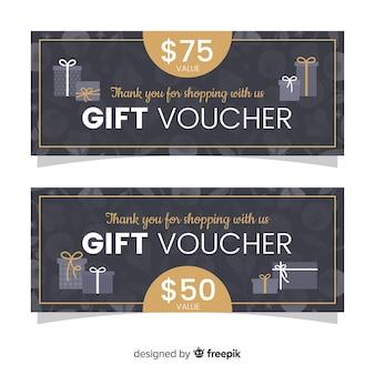 Cheque regalo cajas de regalo
