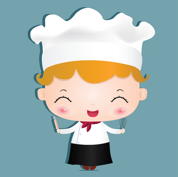 Chica chef