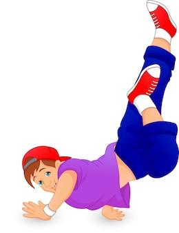Chico de breakdance