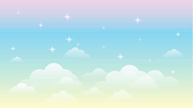 Cielo arco iris galaxia hermoso paisaje fondo