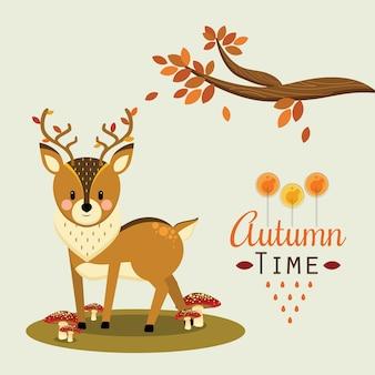 Ciervos de otoño