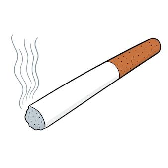 Cigarrillo de dibujos animados