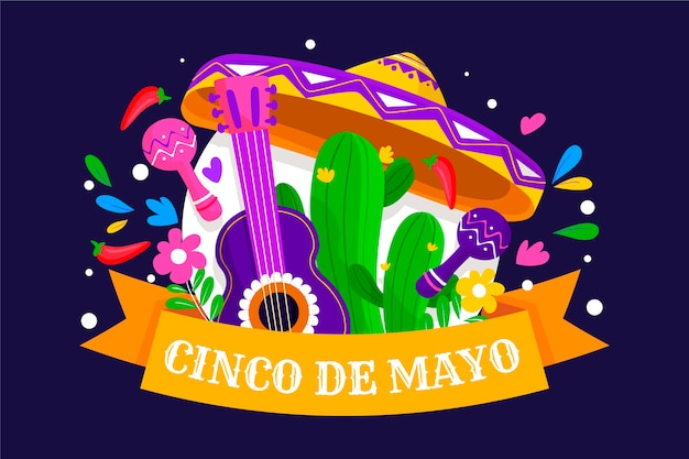 Cinco de mayo con guitarra