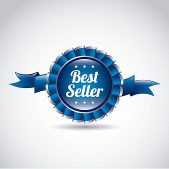 Cinta de premio de mejor vendedor
