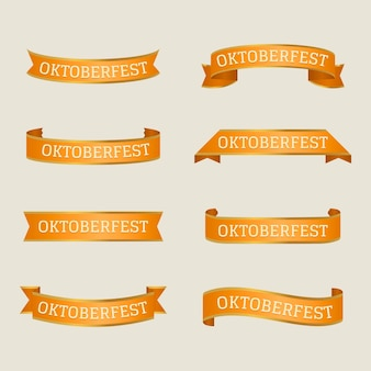 Cintas planas del festival oktoberfest