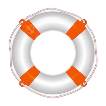 Cinturón salvavidas, salvavidas, anillo de vida. concepto de salvavidas.