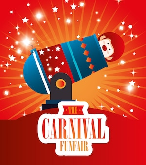 Circo carnaval de entretenimiento