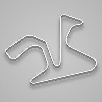 Circuito de jerez para el automovilismo y el automovilismo. pista de carreras del gran premio de españa.