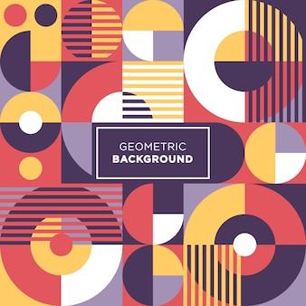 Círculo colorido abstracto formas de fondo