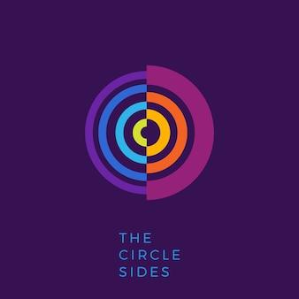 Círculo creativo logo lateral.