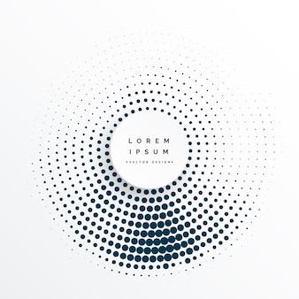 Círculos de semitono diseño de fondo abstracto