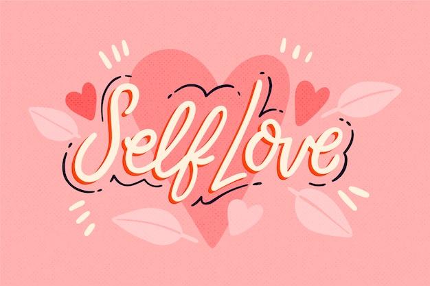 Cita con concepto de amor propio